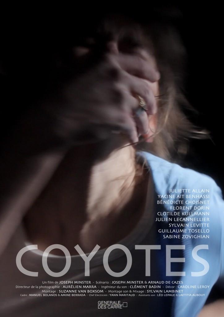 """[Moyen-métrage] """"Coyotes"""" avec Florent Dorin (2010) Affiche-Coyotes-724x1024"""