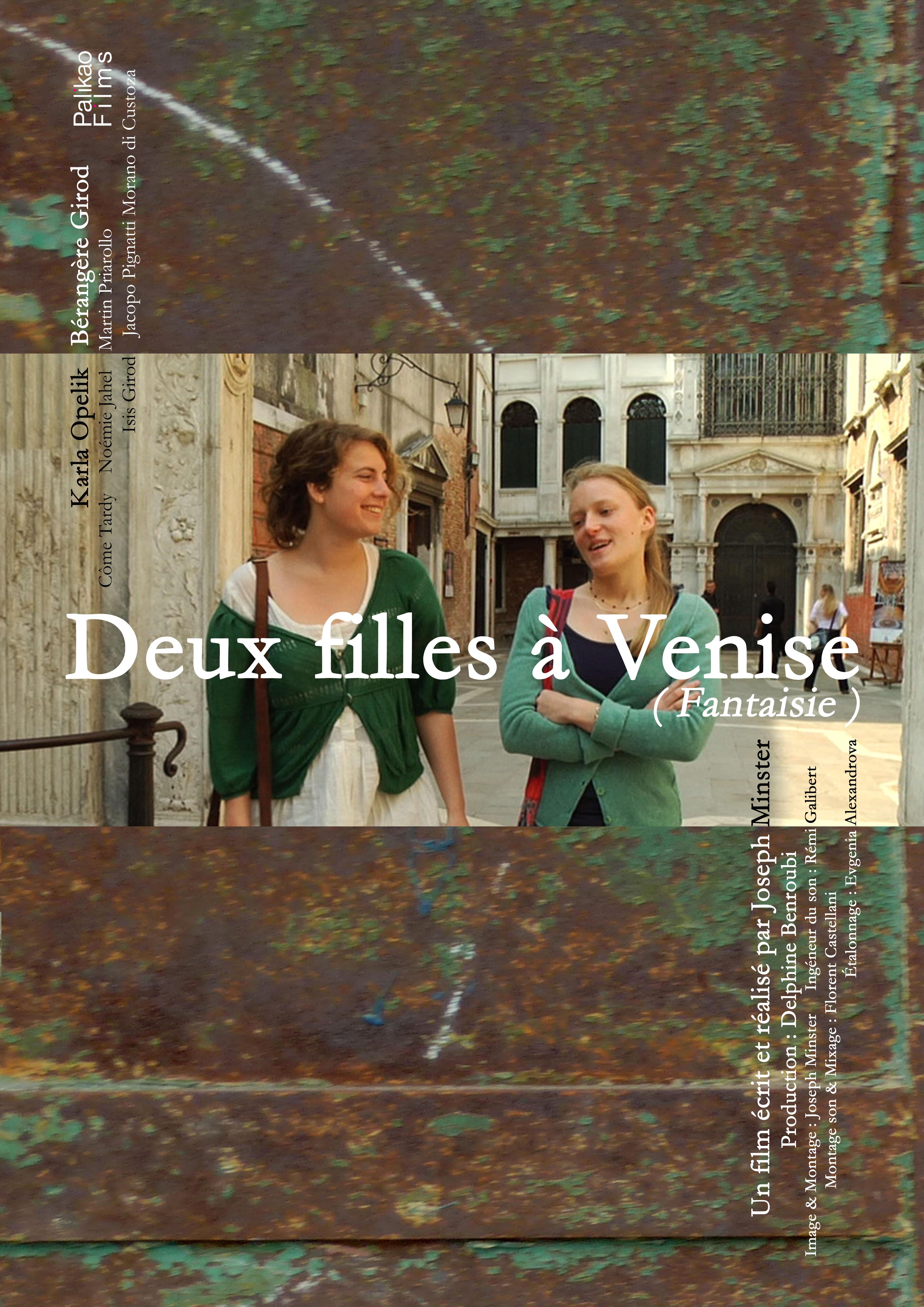 Affiche Deux filles à Venise