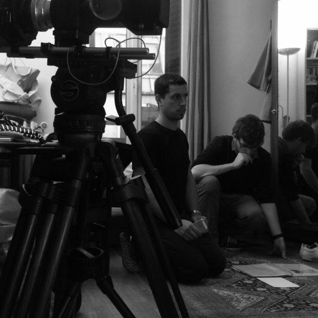 Tournage du court-métrage «Le Déliement»