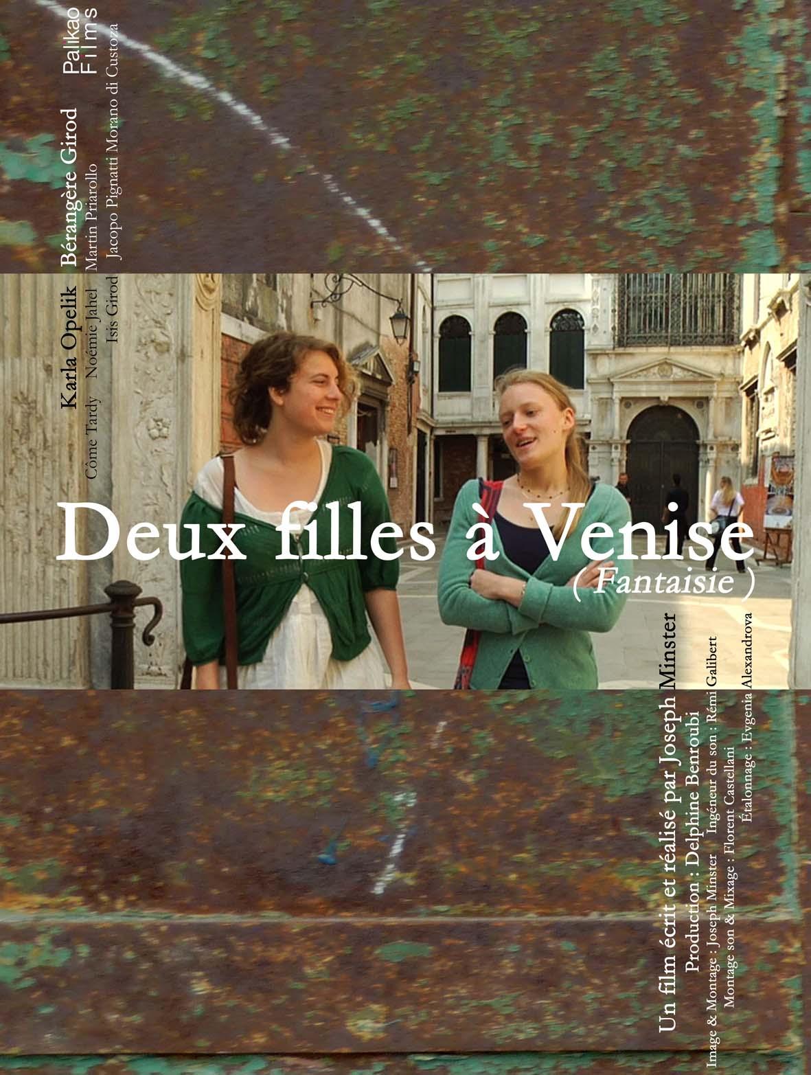 Affiche Deux filles à Venise 2